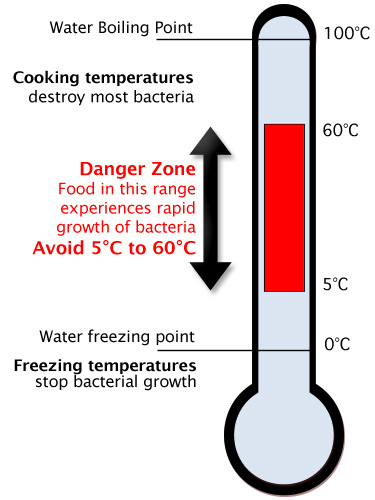 food temperature